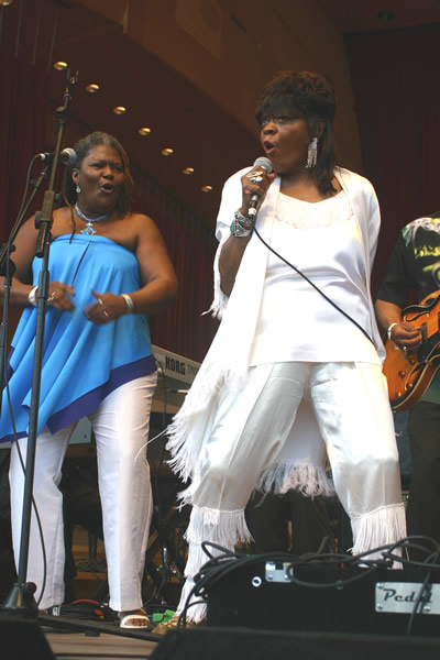Jennifer Noble - Koko Taylor, Sharon Lewis